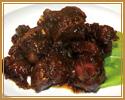 1. スペアリブの黒酢旨