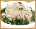 4. 蟹入り細切押豆腐土鍋
