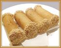 12. さつま芋のトースト揚げ